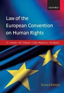 Image for Harris, O'Boyle & Warbrick: Law of the European Convention on Human Rights