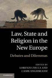 Image for Law, State and Religion in the New Europe: Debates and Dilemmas