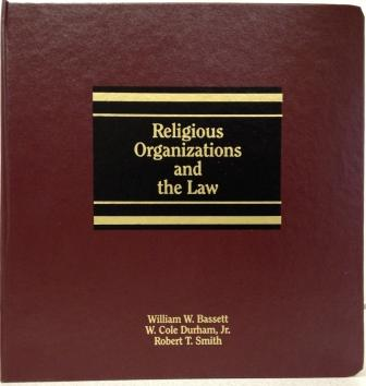 Image for Religious Organizations and the Law
