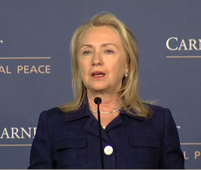 Image for Secretary of State Hillary Clinton on International Religious Freedom
