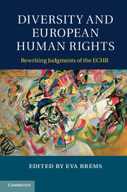 Image for Diversity and European Human Rights: Rewriting Judgments of the ECHR