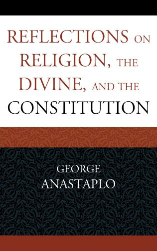 Image for Reflections on Religion, the Divine, and the Constitution
