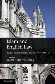Image for Islam and English Law: Rights, Responsibilities and the Place of Shari'a