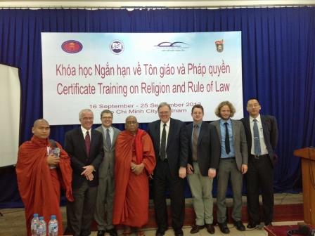 Image for Second Certificate Training Program on Religion and the Rule of Law in Vietnam
