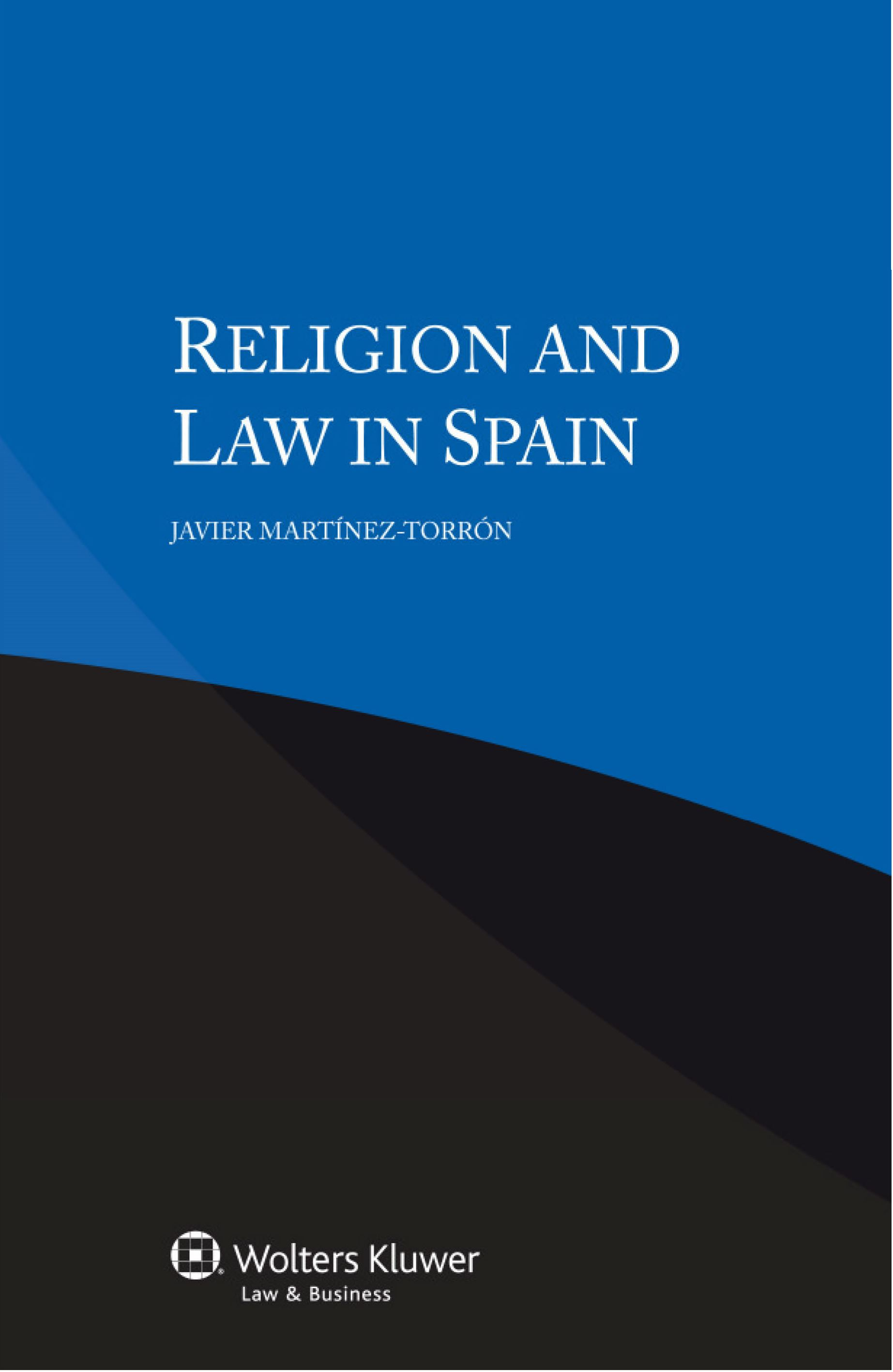 Image for Religion and Law in Spain