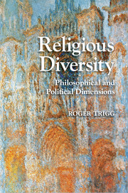 Image for Religious Diversity: Philosophical and Political Dimensions