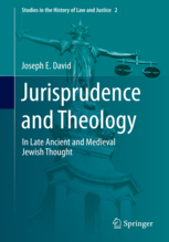 Image for Jurisprudence and Theology in Late Ancient and Medieval Jewish Thought