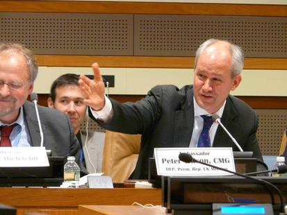 Image for UN Side Event on Religious Freedom, October 2014