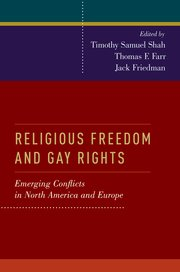 Image for Religious Freedom and Gay Rights: Emerging Conflicts in the United States and Europe