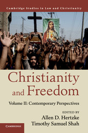 Image for Christianity and Freedom: Volume 2. Contemporary Perspectives