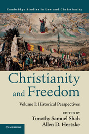 Image for Christianity and Freedom: Volume 1. Historical Perspectives