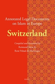 Image for Annotated Legal Documents on Islam in Europe: Switzerland