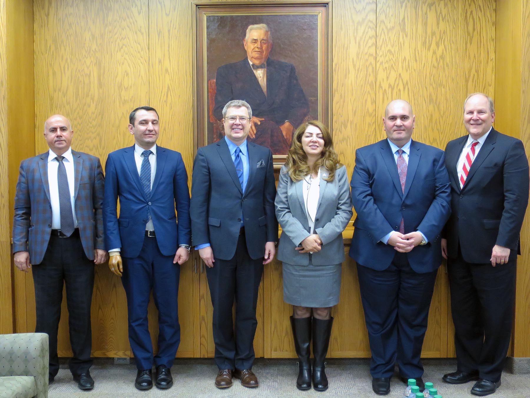 Image for Iraqi-Kurdistan Delegation Visits the Center