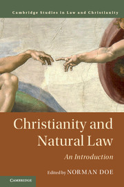 Image for Christianity and Natural Law