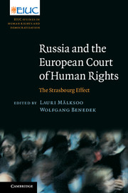 Image for Russia and the European Court of Human Rights: The Strasbourg Effect